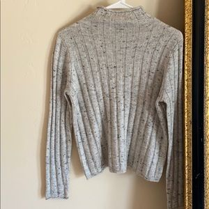 NWOT MADEWELL light grey sweater SIZE: S